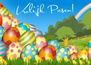 vrolijk-pasen-kleurig-kuikens-en-eieren